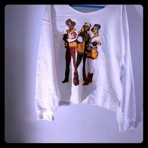 Tops - Deconstructed Salt n Peppa sweatshirt